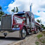 semi truck, big rig, transportation